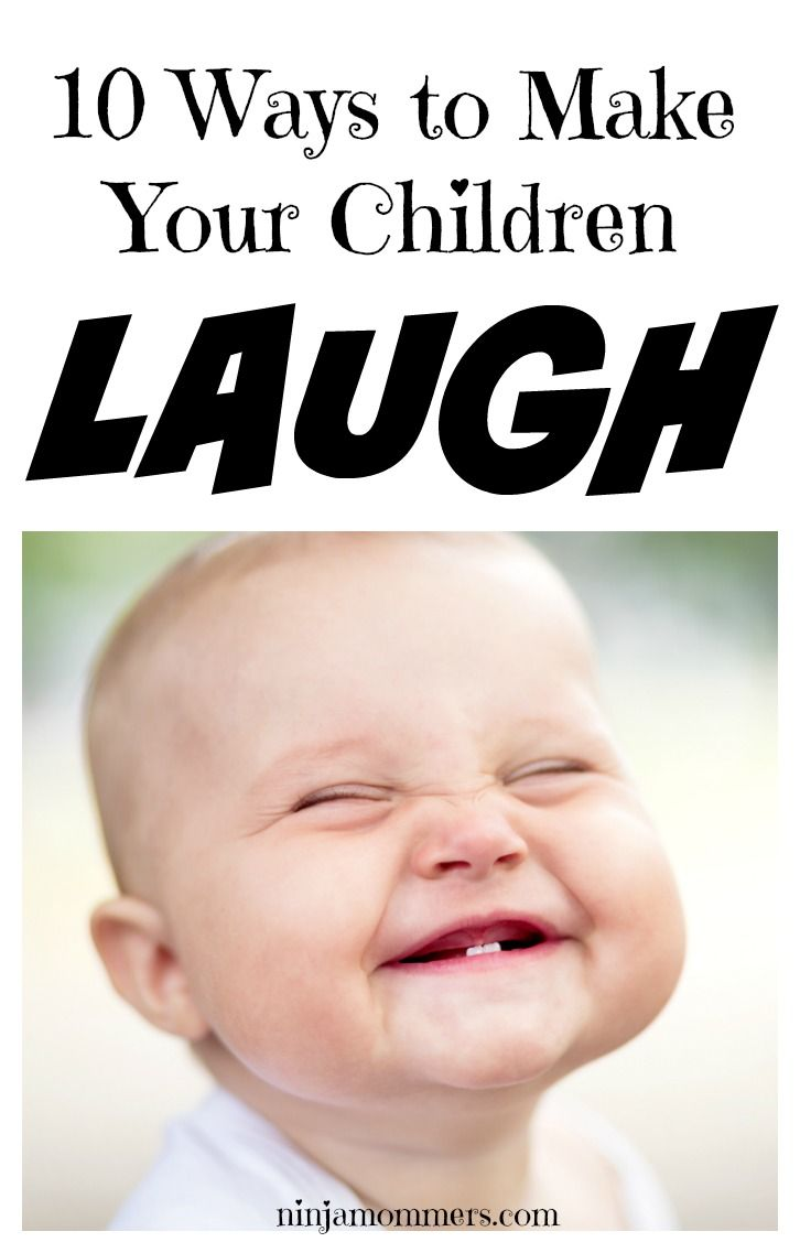 10 Goofy Ways to Make Your Kids Laugh | Kids laughing ...