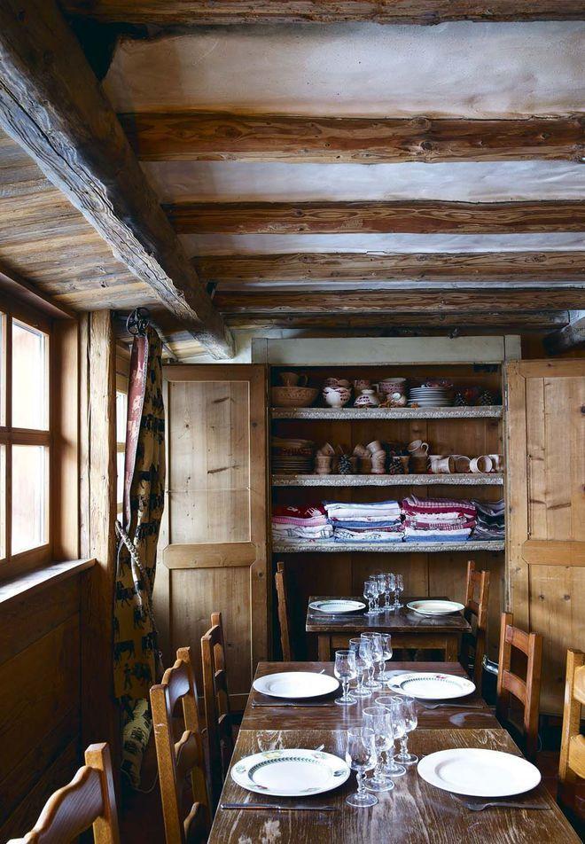 Val d'Isère : L'Étable d'Alain, un restaurant à la déco familiale