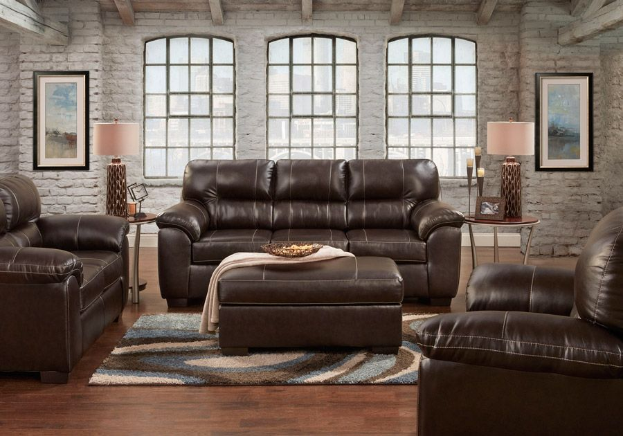 Austin Brown Sleeper Sofa Loveseat Sofa And Loveseat Set Living Room Sets Brown Living Room Decor