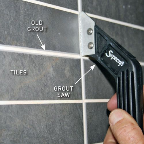 Regrout tiles in 3 easy steps in 2019 for the home - How to clean old bathroom floor tiles ...