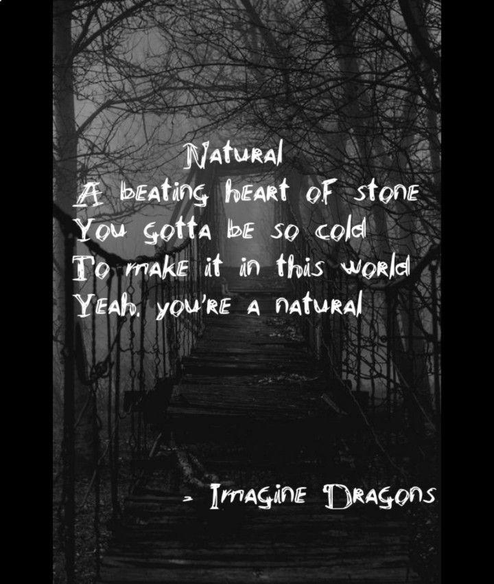 Imagine Dragons Natural Lyrics Citas De Canciones Letras
