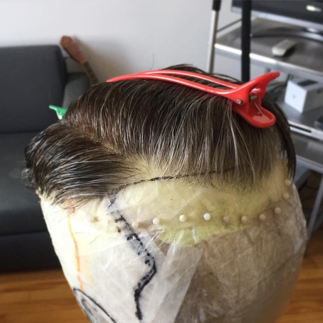 "Wig Maker • Montréal on Instagram ""Ech, this stresses me"