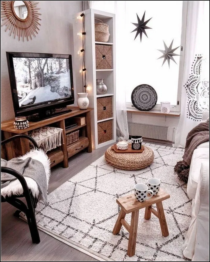 138 Elegant Cheap And Easy First Apartment Decorating 21 Interior Design Living Room Warm Small Apartment Living Room Interior Design Living Room