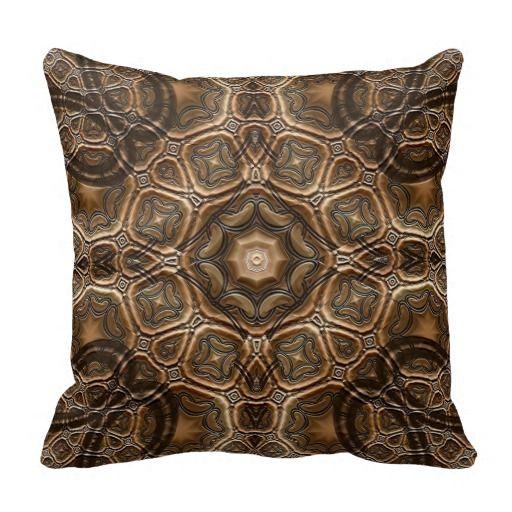 FST Earth Tones Chisel Decorative Pillow - http://www.zazzle.com/fst_earth_tones_chisel_decorative_pillow-189672812447611615