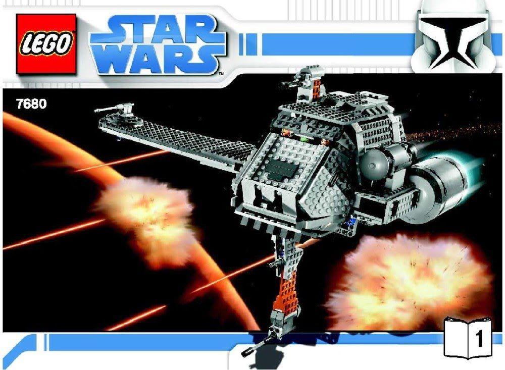 Lego 7680 Star Wars The Twilight Instruction Manual Legos