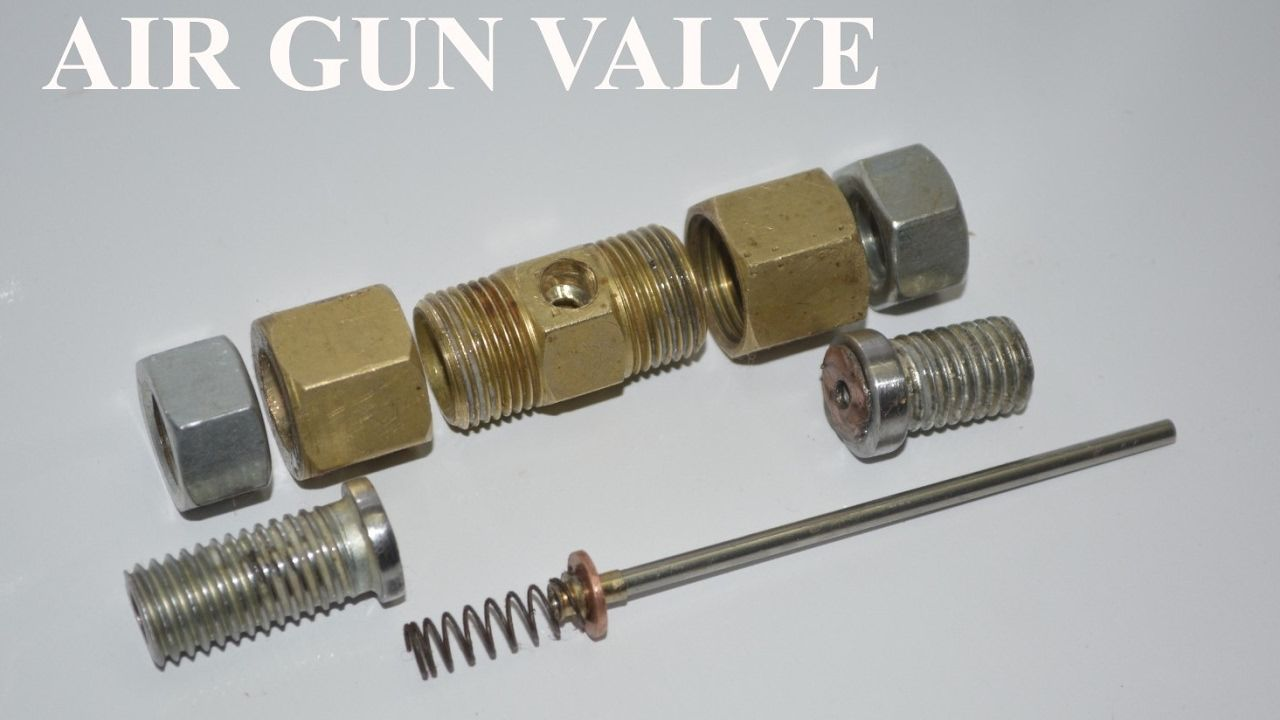 Homemade Air gun valve 2 Simply the best - YouTube | Guns