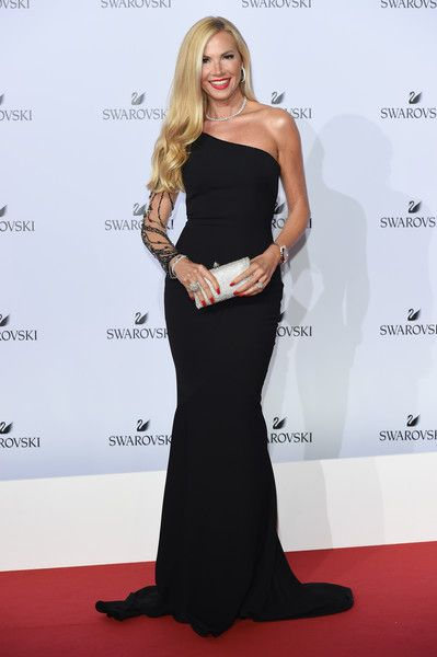 Federica Panicucci attends Swarovski Crystal Wonderland Party on September 20, 2017 in Milan, Italy.