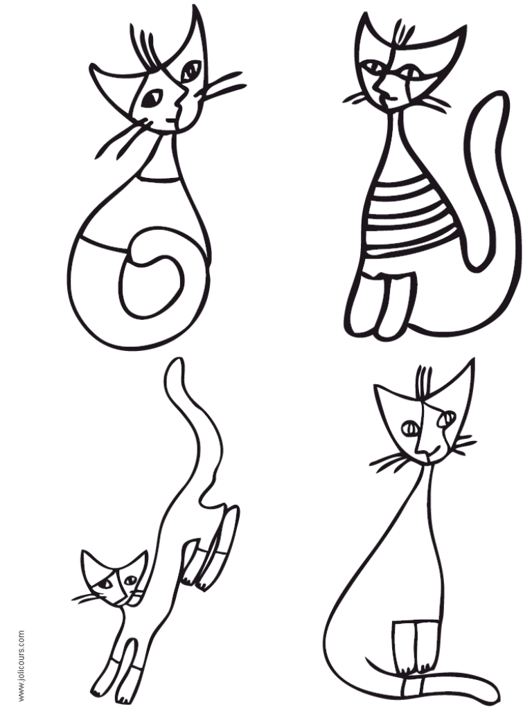 Coloriage Chat Rosina Wachtmeister.A La Maniere De Rosina Wachtmeister Rosina Cats Gatos Colchas