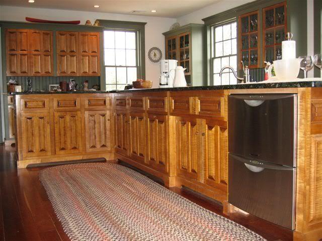 Tiger Maple Kitchen Cabinets photo by Leathurkatt   Maple ...