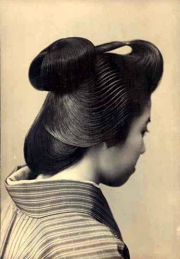 Chignon Japonais Japan Culture Art Asia Photography Asian Photography
