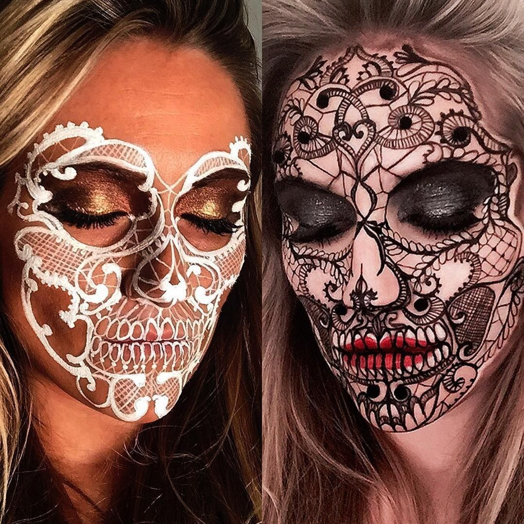 This MUA's Insane Skeleton Creations Make Us Want Halloween to ...