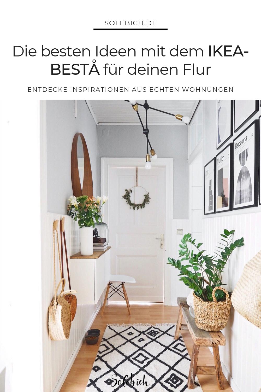 Pin Auf Ikea Besta Ideen Fur Dein Wohnzimmer Flur Co