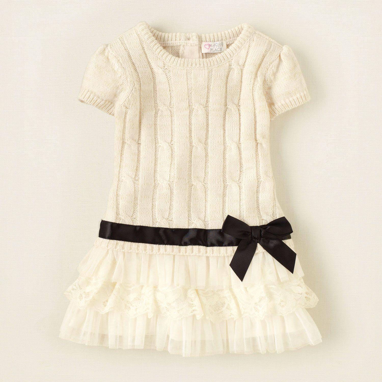 Knitting Dress For Girl : Baby girls on pinterest pillowcase dresses toddler