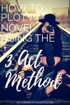 Learn how to plot a novel using the 3 Act method. Give your characters the freedom to choose their own destiny.