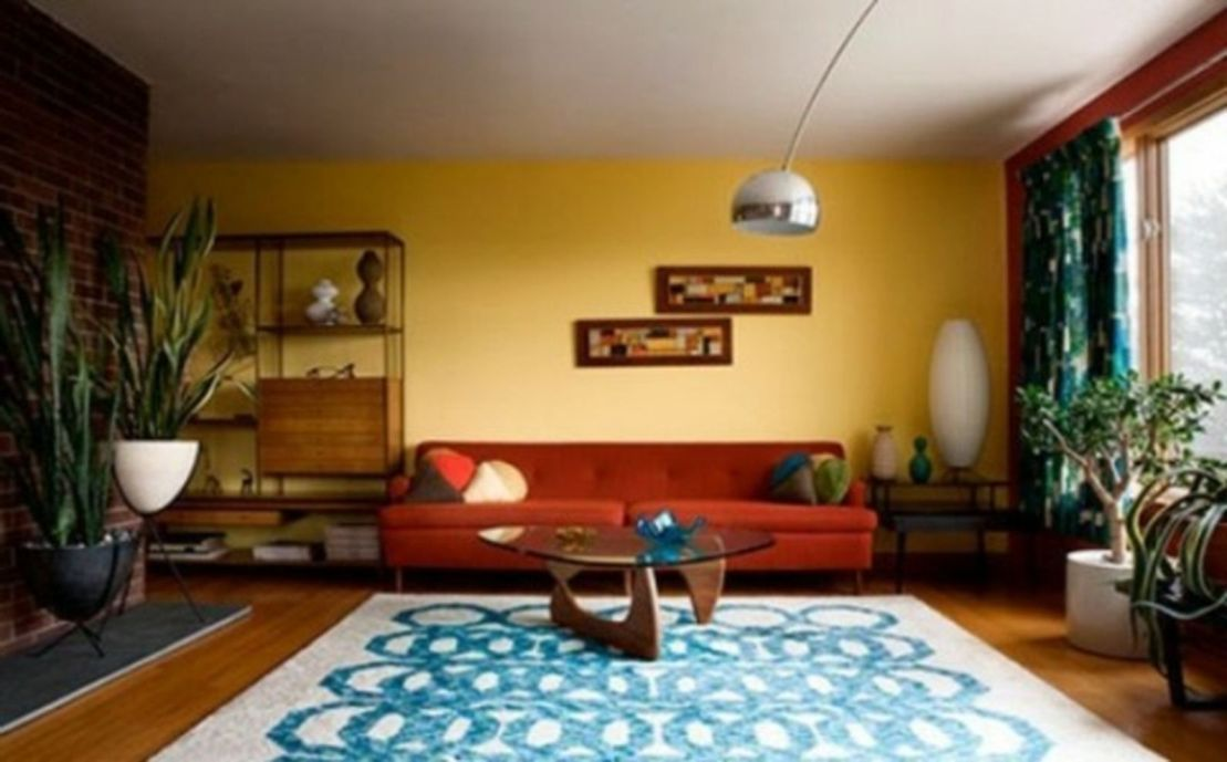 53 Adorable Burnt Orange And Teal Living Room Ideas ...