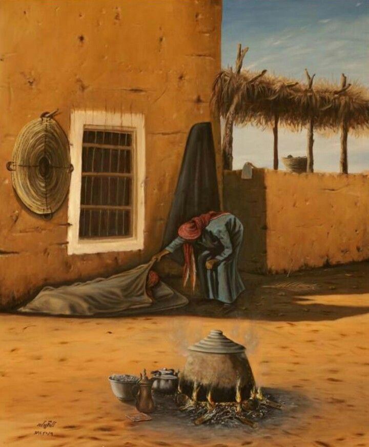 الفنان التشكيلي صالح النقيدان Persian Art Painting Arabian Art World Art