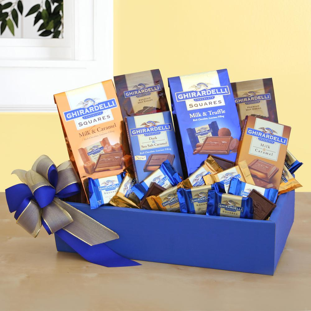 Givens Company Ghirardelli Party Giv 7140 In 2020 Chocolate Gifts Basket Chocolate Gift Boxes Ghirardelli Chocolate