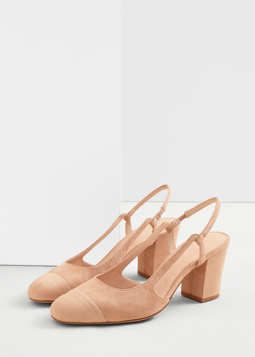dc49ef2d3a2 Ξώφτερνα παπούτσια με τακούνι - Γυναίκα | Ό,τι θέλω να αγοράσω ...