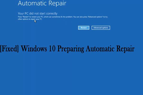 Preparing Automatic Repair Loop Windows 10 Lenovo Di 2020 Dengan