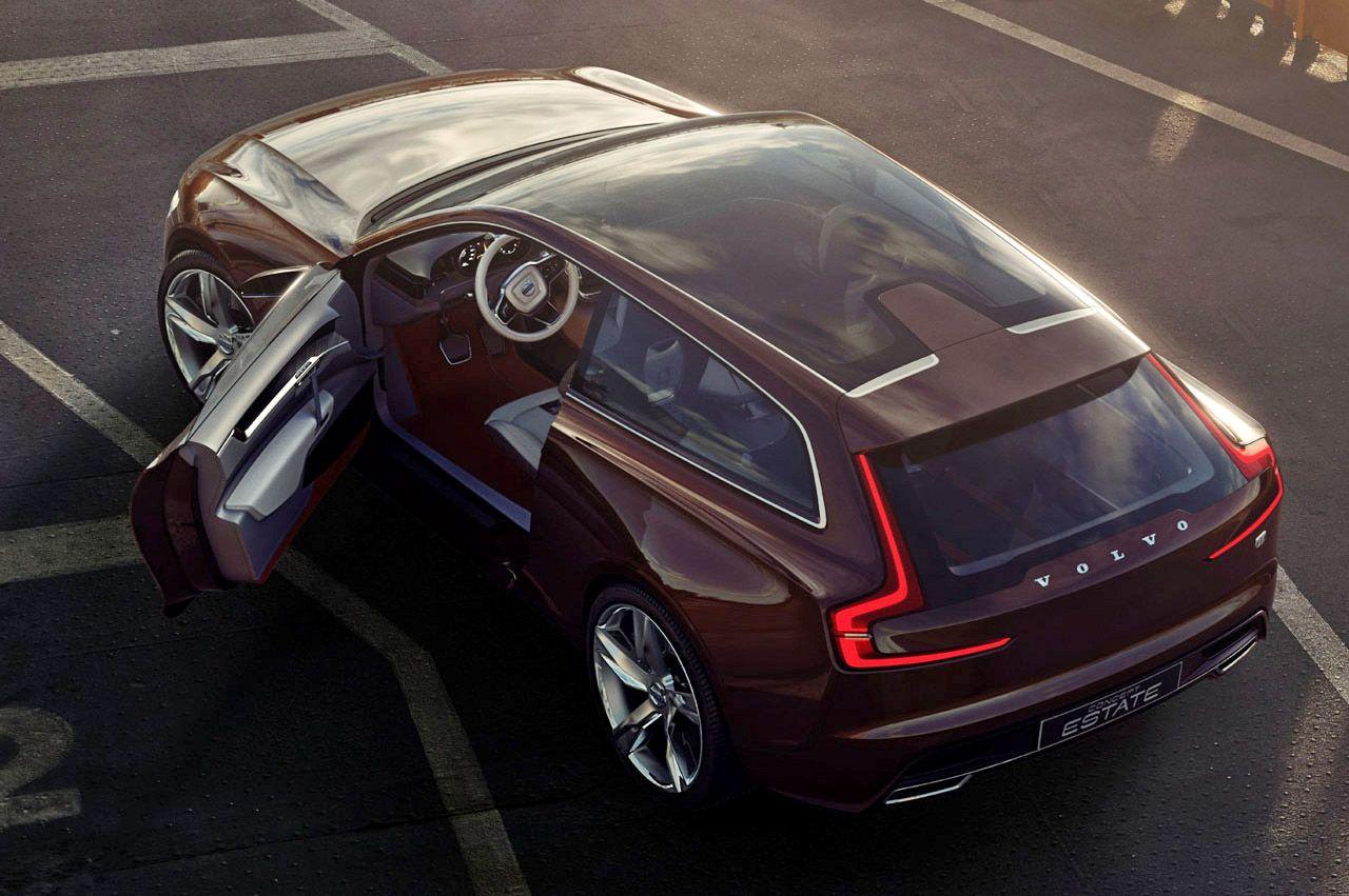 Volvo Concept Estate | Car & Machine & Sketch & Vehicle | Pinterest ...