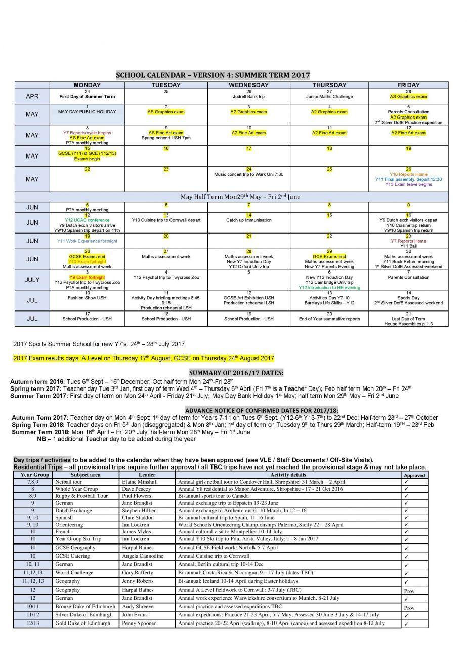 Calendar August 2017 Dates Results School calendar, Dating