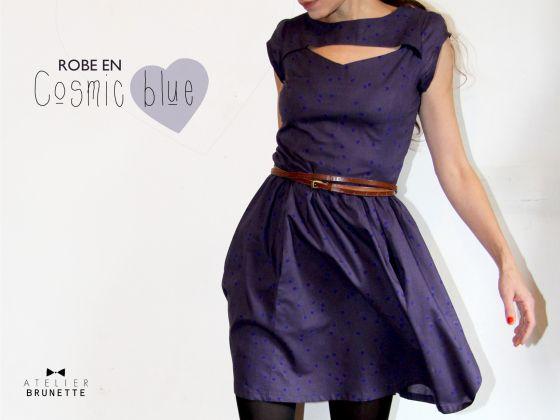 Patron simplicity cosmic blue / atelier brunette
