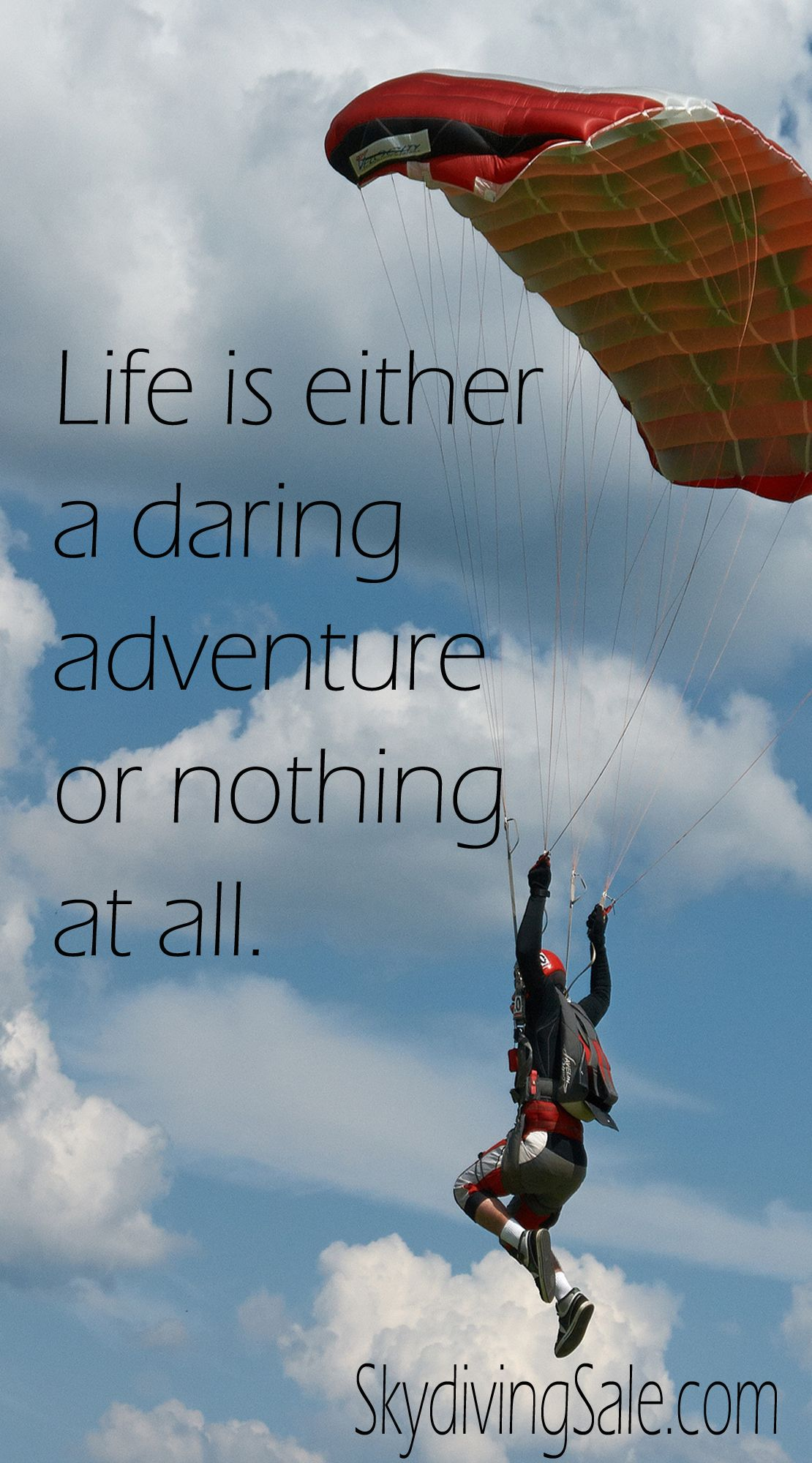 Life Is Either A Daring Adventure Or Nothing At All Diving Quotes Travel Quotes Adventure