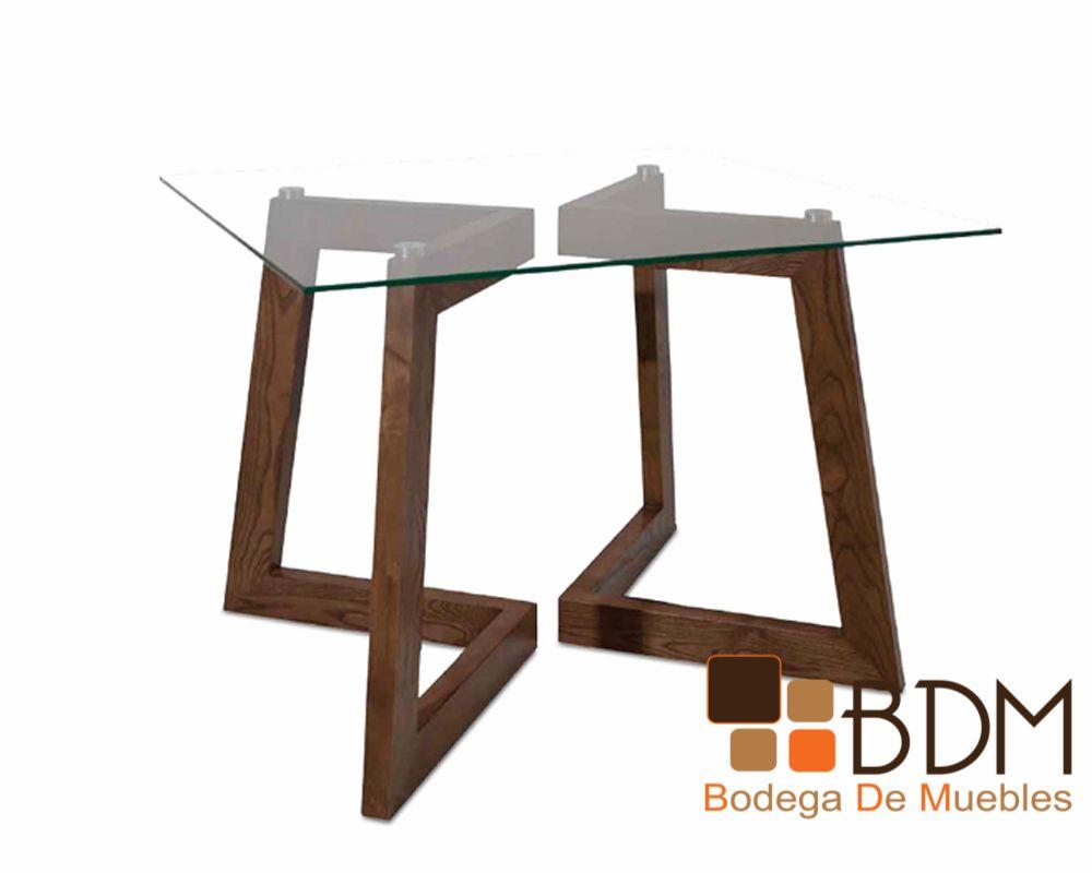 Mesa de comedor moderna bancas pinterest mesas y for Mesas de comedor de vidrio modernas