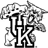 kentucky wildcat logo coloring pages - photo#1