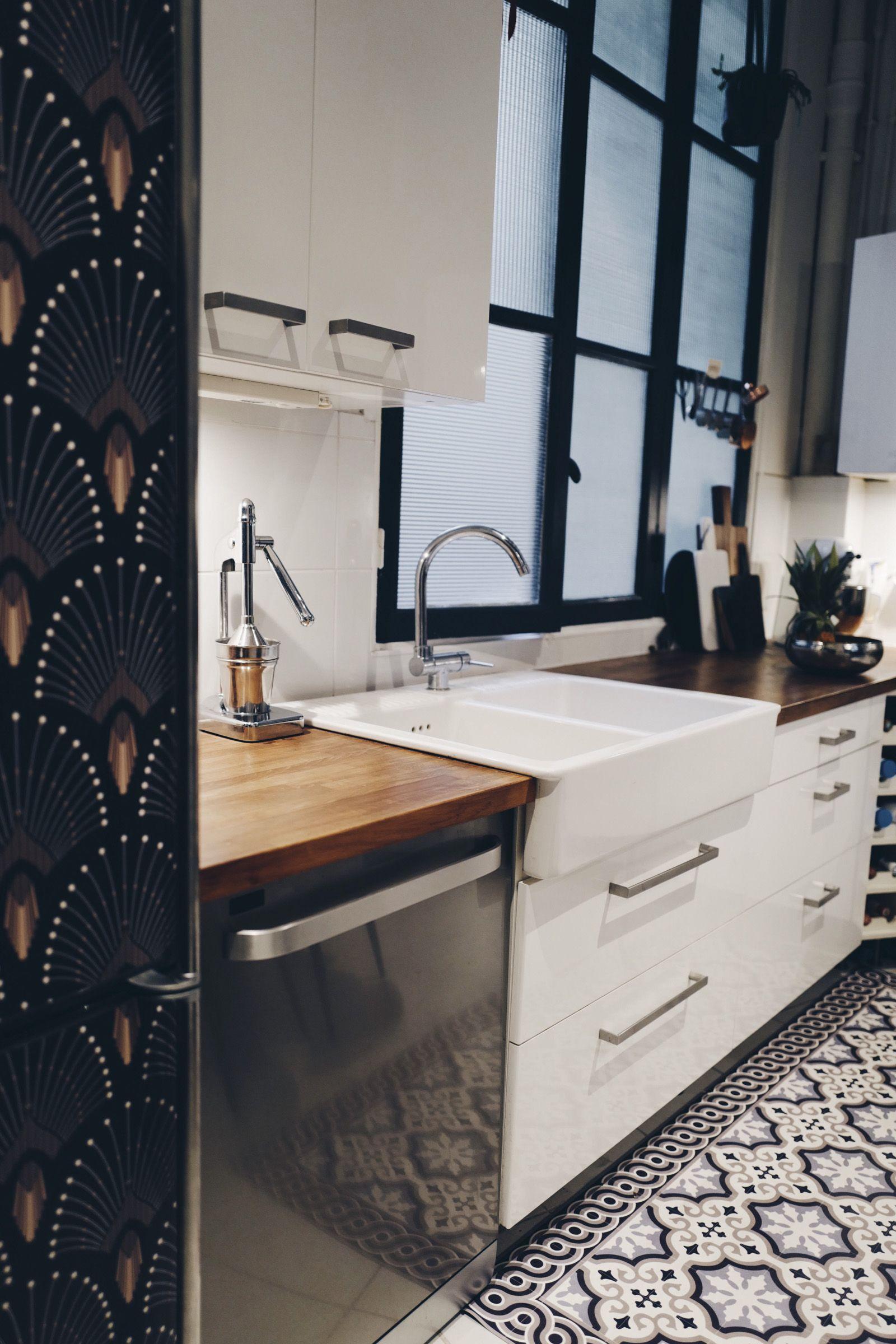 coup de frais at home chez moi d coration frigo. Black Bedroom Furniture Sets. Home Design Ideas