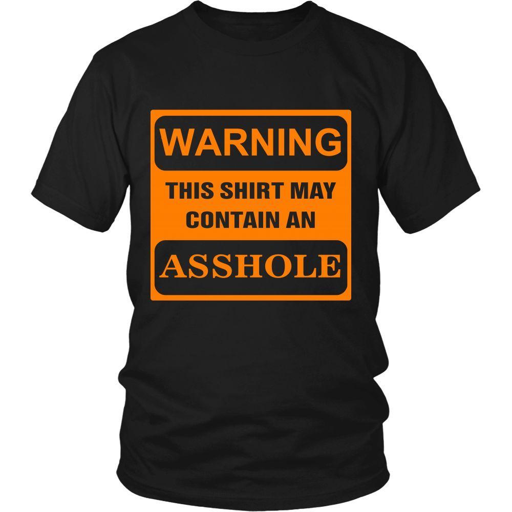 WARNING. This shirt may contain an....