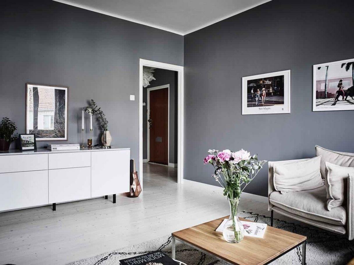 Graues Wohnzimmer ~ Attraktiv wohnzimmer in grau wohnzimmer deko