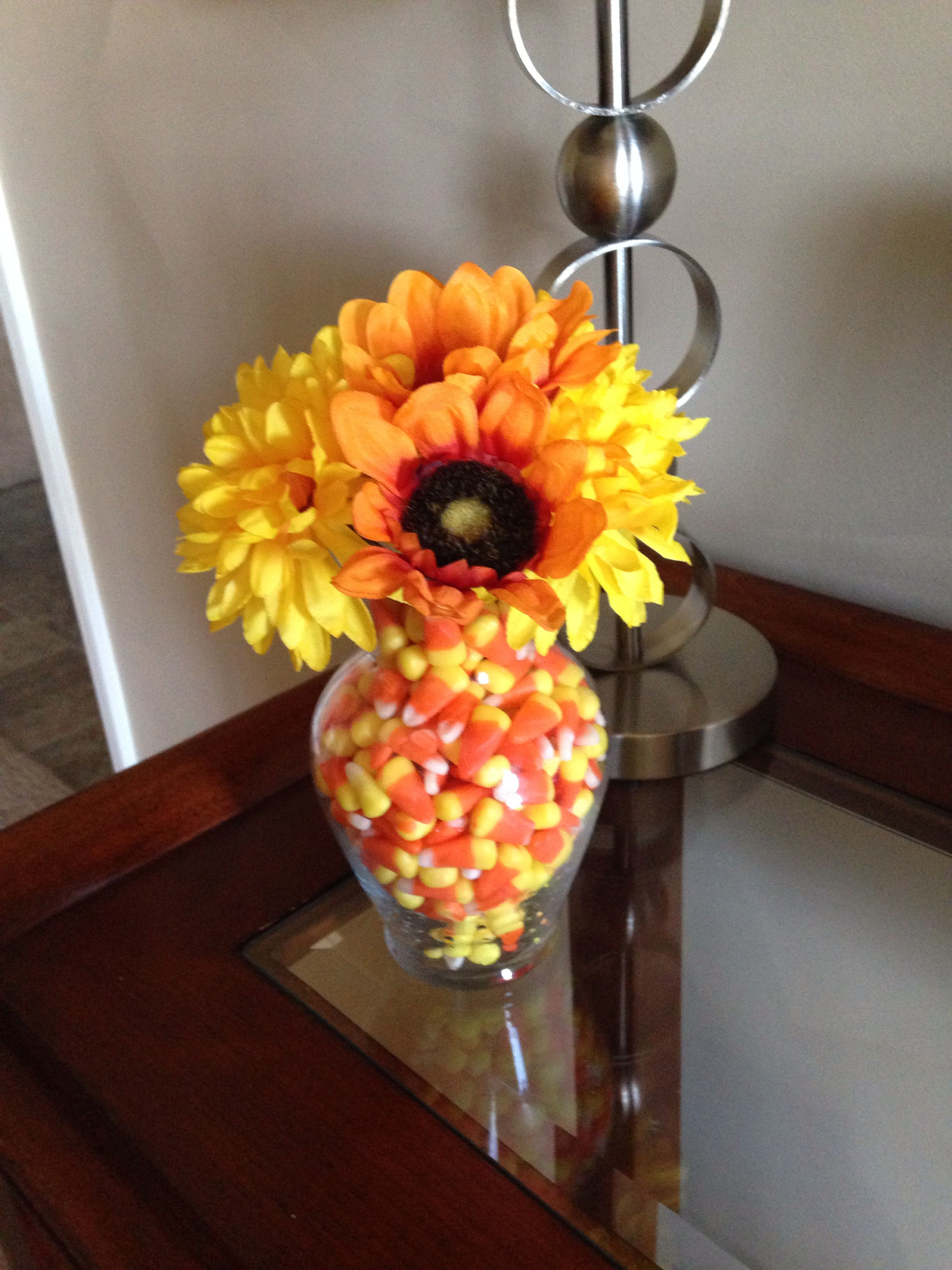Candy corn fall decoration crafts pinterest
