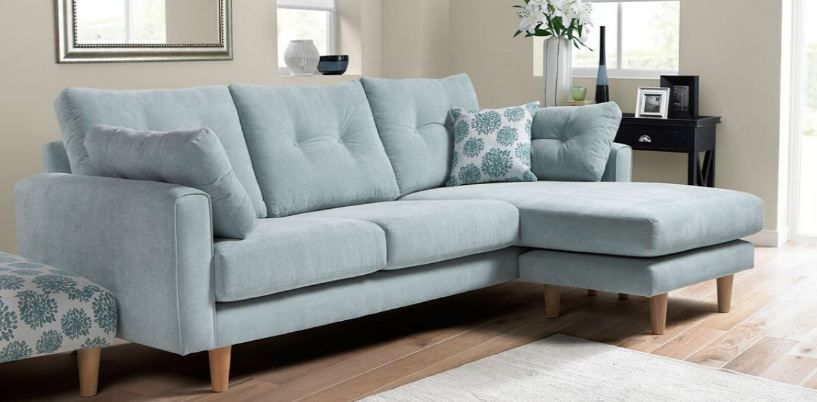 How To Look For The Best Sofa Or Couch Yonohomedesign Com In 2020 Blue Corner Sofas Blue Sofa Living Duck Egg Blue Living Room