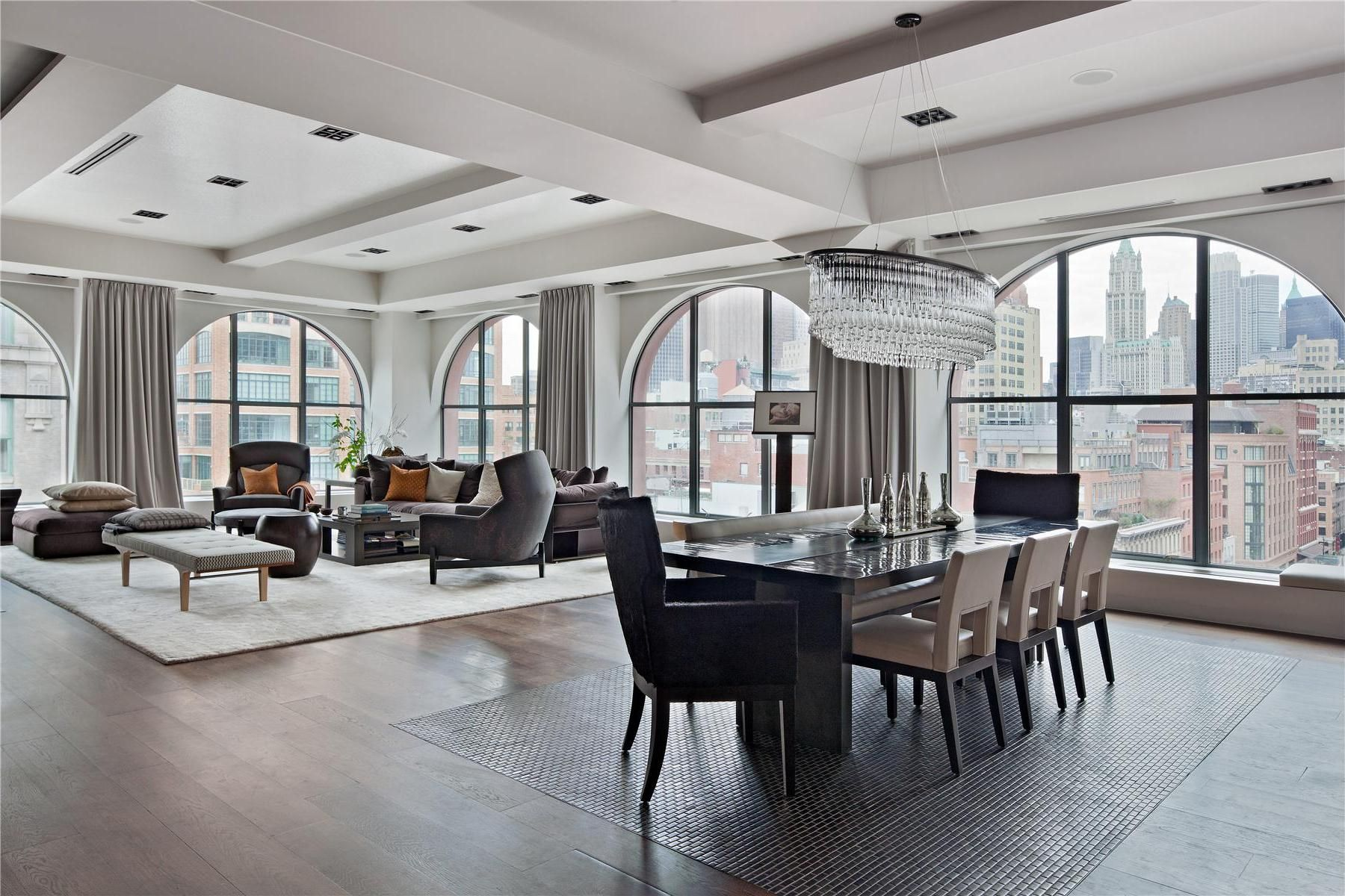 Awesome Image Of Luxury Loft Apartment Modern Spectacular 408 Greenwich Street In Tribeca New York