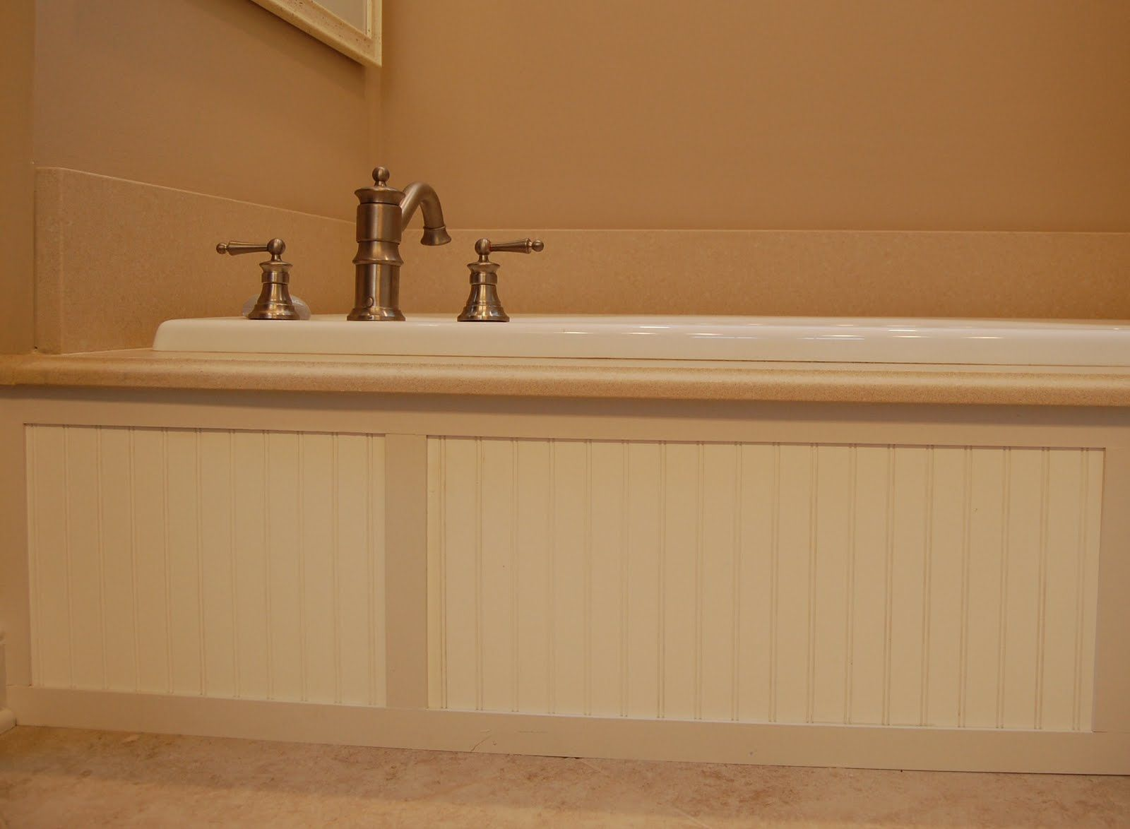 beadboard around tub | House stuff | Pinterest | Tubs, Semi gloss ...
