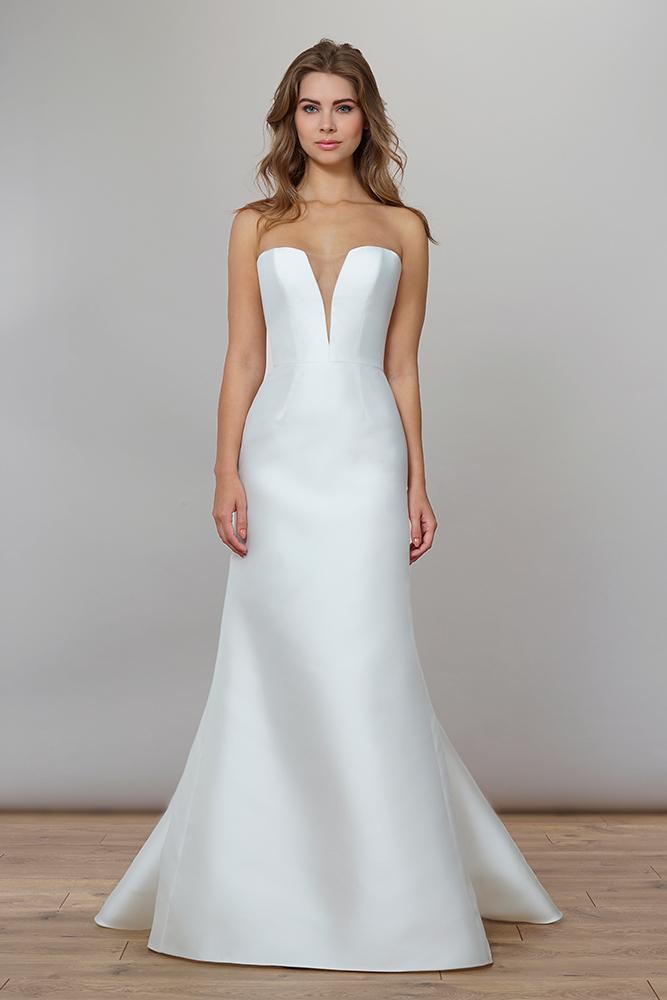 Liancarlo 7858 Liancarlo Sample Wedding Gowns Wedding Dress Shopping Column Gown
