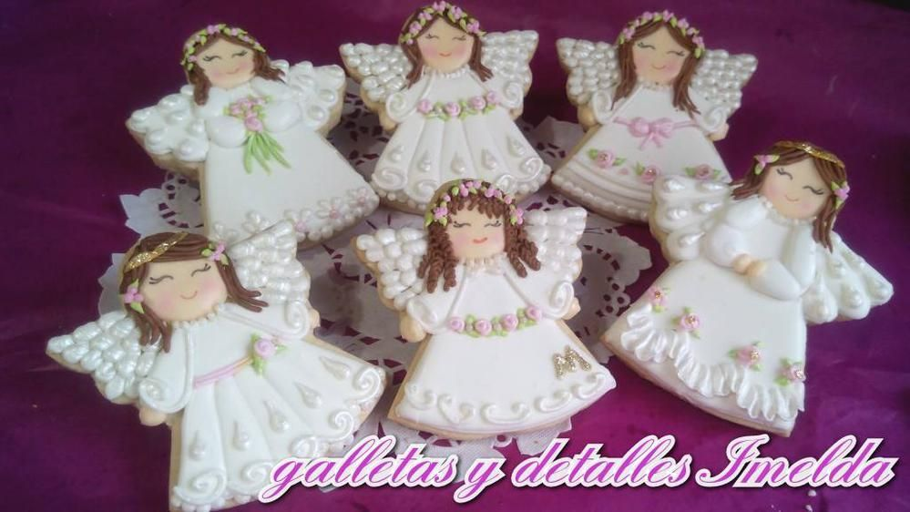 Bautizo; Angels, dove, cross for Baptism by mariaimelda, posted on Cookie Connection