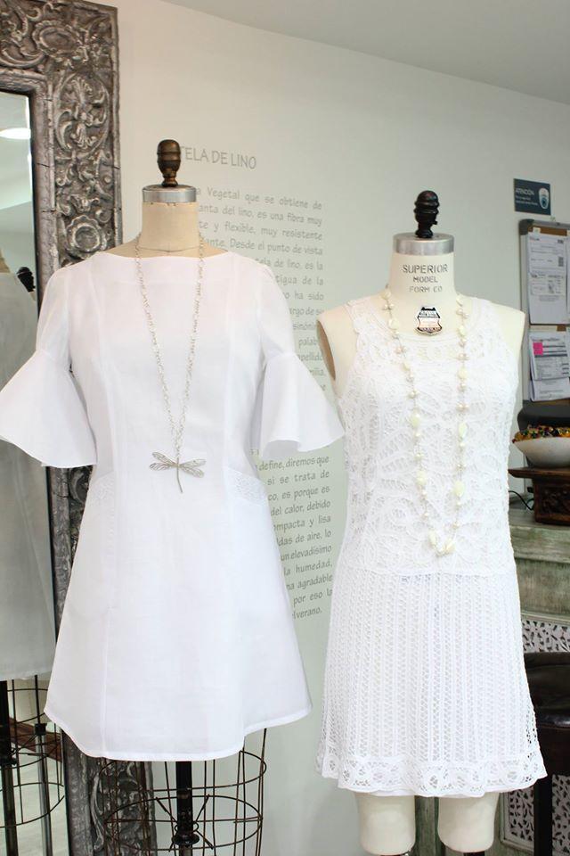 #LookDeLaSemana:  ¿Qué tal un #outfit de colores claros para esta semana? Luce bella y siéntete fresca con estos vestidos perfectos para esta semana.  #GriseldaTovar #Moda #Mujeres