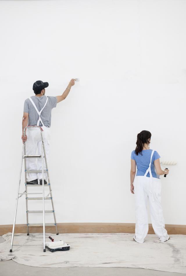 10 Trucos Para Pintar Paredes Como Un Profesional Como Pintar La Casa Como Pintar Un Dormitorio Paredes Pintadas
