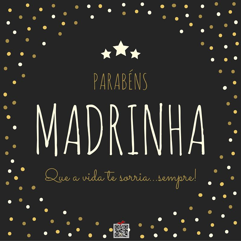 Parabéns Madrinha Quotes Happy Birthday Birthday E Birthday Quotes