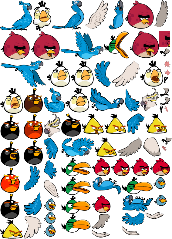 Deviantart More Like Angry Birds Rio By Diabolus01 Angry Birds Bird Sketch Angry Birds Party