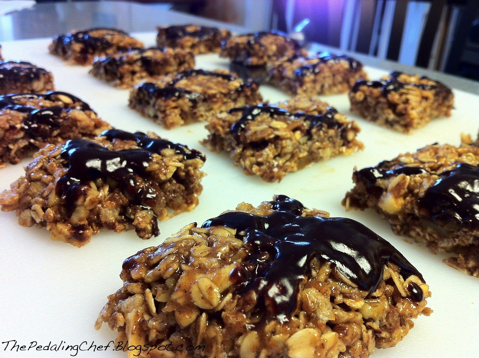 The Pedaling Chef: Homemade Clif Bars