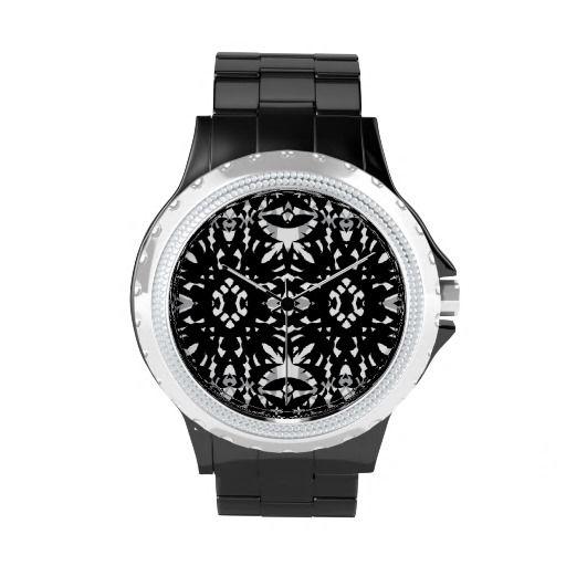 Gothic #2 - Black Designer Wrist Watch
