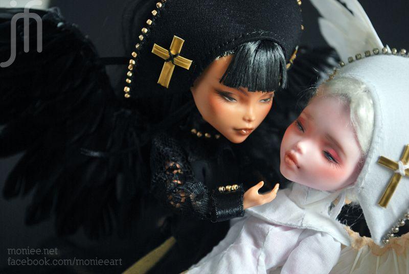 • OOAK Custom Monster High *Angel Saints*