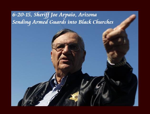 62015, Arizona Sheriff Joe Arpaio [AZ], is under