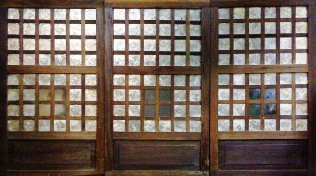 Warehouse Rates Capiz Hardwood Window Panel Displays