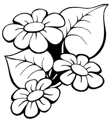 Kwiaty Do Druku Szablony Sadzonki Raskraski Rospis Po Tkani Floristika