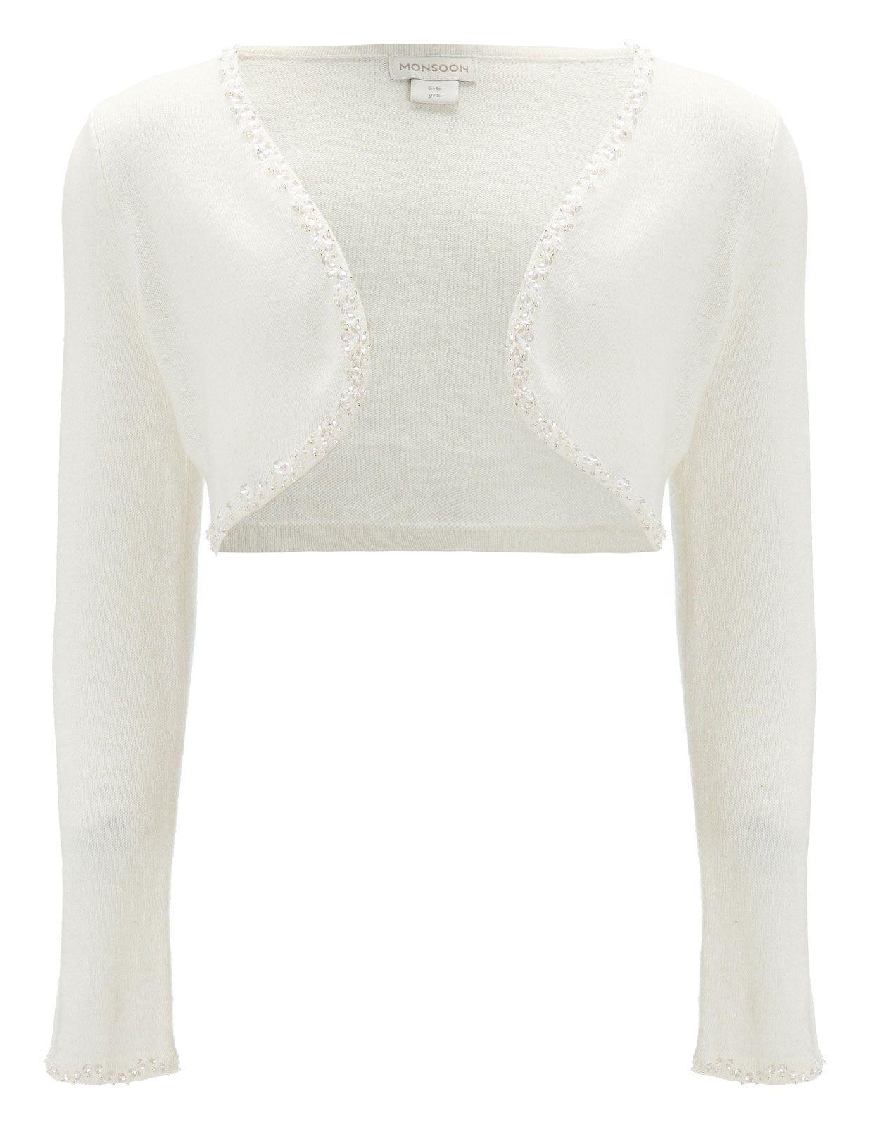Estella Sequin Cardigan   White   Monsoon, vestje 24 pond. Check ...