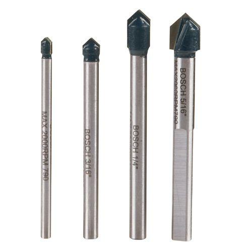 Bosch 4 Pc Glass Tile Drill Bit Set Gt2000 Rona Drilling